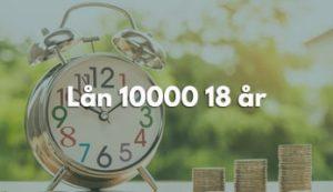 Lån 10000 18 år
